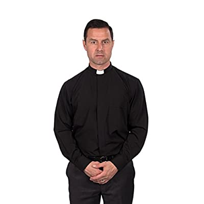 Wholesale Reliant Men\'s Clergy Shirt - Tab Collar Long Sleeve hot sale EgLRDPtE
