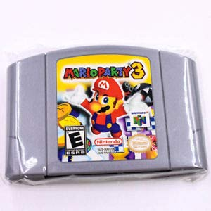 (For Nintendo N64 Game Mario Party 3 Video Game Cartridge)