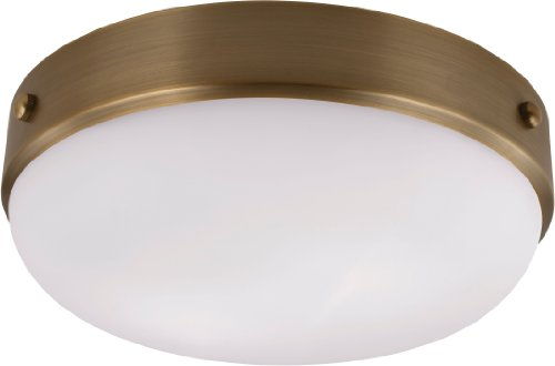 (Feiss FM390BS Cadence Glass Flush Mount Ceiling Lighting)