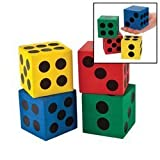 Game/Play Foam Jumbo Playing Dice (12) Kid/Child by Toys-n-Games