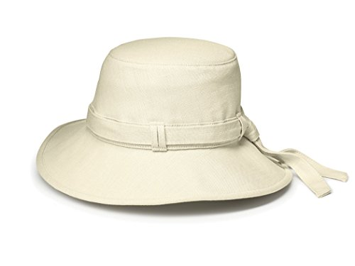 Tilley Endurables TH9 Women'S Hemp Hat,Natural,L (7 3/8-7 1/2) -