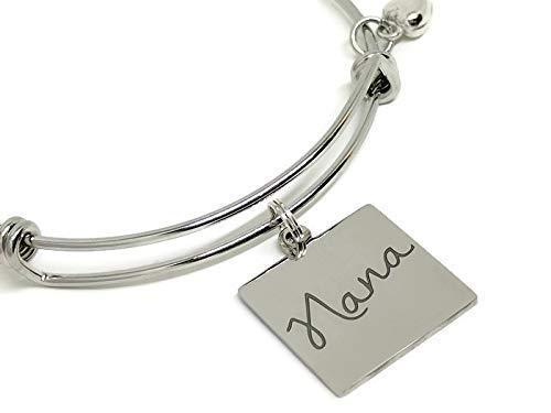 Nana Bangle Bracelet Gift for Nana
