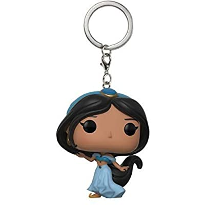Funko Pop Keychain: Aladdin - Jasmine Collectible Keychain: Funko Pop! Keychains:: Toys & Games