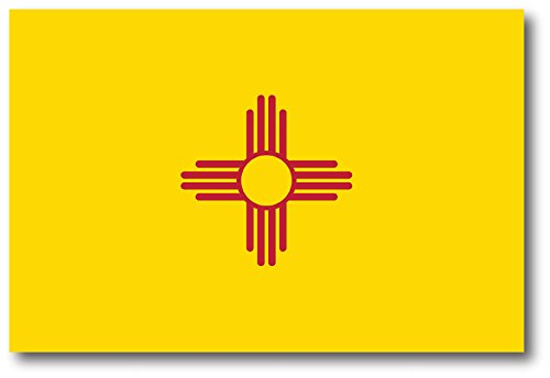 New Mexico Car Magnet US State Flag Refrigerator Locker SUV Heavy Duty Waterproof…