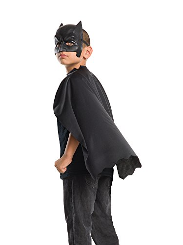 Batman Zombie Mask (Rubie's Costume Batman v Superman: Dawn of Justice Kid's Batman Cape with Mask)