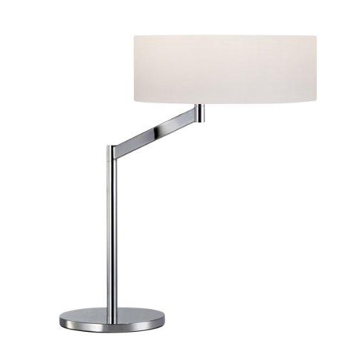 Sonneman 7082-01 One Light Table Lamp, Pool (Contemporary Sonneman Perch)