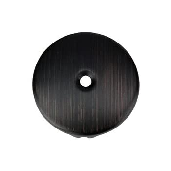 Single Hole Overflow Cover / Face Plate In Oil Rubbed Bronze