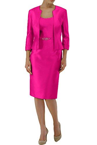 trapecio Vestido mujer 52 para rosa Topkleider 5dwB4xd