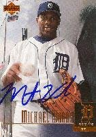 - Michael Woods Detroit Tigers 2001 Upper Deck Star Rookie Autographed Card. This item comes with a certificate of authenticity from Autograph-Sports. Autographed