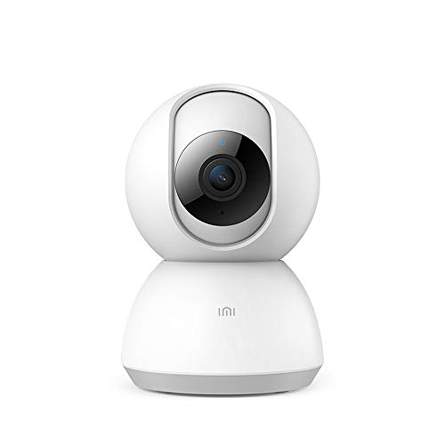 IMI 360 Home Wireless Security Dome WiFi IP Camera 1080P Pan Tilt Surveillance with Night Vision Two Way Audio Motion Detection Indoor Remote Control with iOS, Android App for Baby Pet Elder