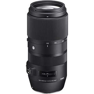 Sigma 100-400mm f/5-6.3 DG OS HSM Contemporary Lens for Cano
