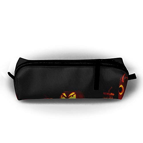 CQCJHHXH Our Halloween Evening Soiree Pencil Case Bag Stationery Pouch Bag for Kids,School Student -