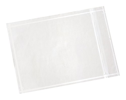 3M Non Print Packing List Envelope PLE-NP1, 4-1/2 in x 5-1/2 in (Box of (Clear Packing Envelopes)