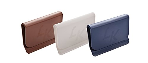 Lickety Klip (3 Pack) BROWN WHITE & NAVY - Prevents Holes In Tops