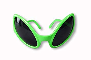 e4883a140cb Image Unavailable. Image not available for. Colour  Alien Glasses Green