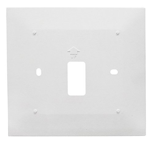 Series Wall Plate - Honeywell THP2400A1019/U Wall Plate for 8000 Series Thermostat