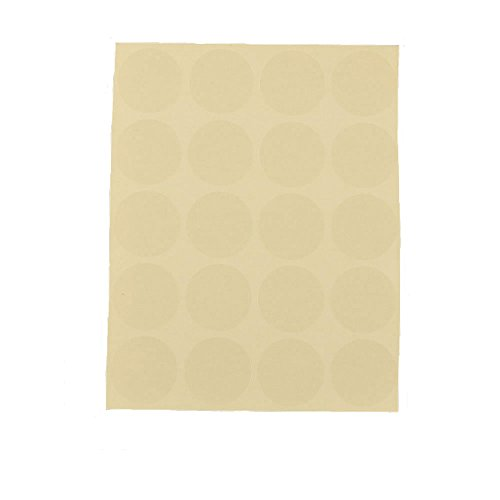 500 1' circles clear dots label sticker wholesale and custom label suppliers round transparent adhesive sticker sheets