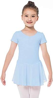 Bezioner Vestido de Ballet Maillot de Danza Gimnasia Leotardo ...