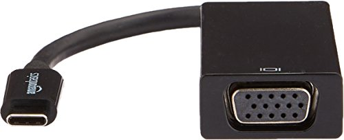 AmazonBasics USB 3.1 Type-C to VGA Adapter - Black by AmazonBasics (Image #3)