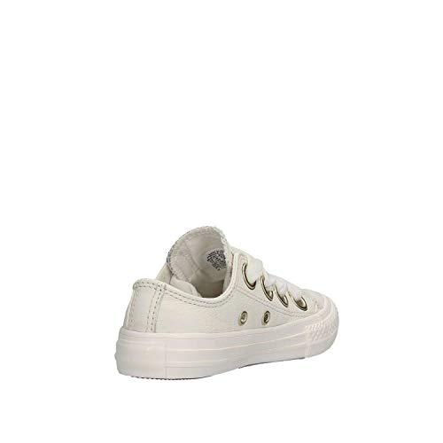 Adulto de CTAS White Multicolor Zapatillas Big Converse Vintage White Deporte Vintage Eyelets 103 Unisex pIq0pdw