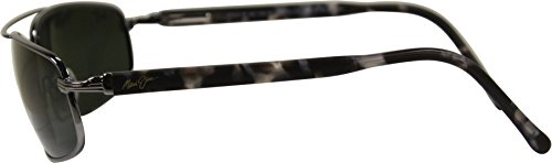 Maui Metal Sunglasses black 02 Jim Kahuna 162 Gun qnawfqU4