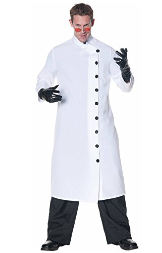 Mad Scientist Plus Size Costumes (Underwraps Men's Plus-Size It's Alive, White/Black, XX-Large)