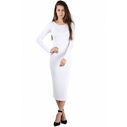 Fashion Fever London Ltd - Vestido - para mujer blanco