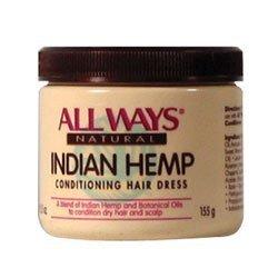 All Ways, Natural Indian Hemp Conditioning Hair Dress, 5.5 oz