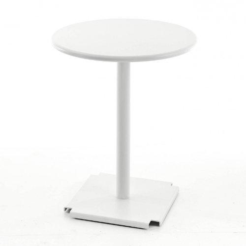 FAST Cross/Tonik - Mesa de Bistro blanco/armazon blanco/Ø