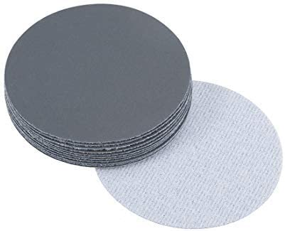 3-inch hook and loop sanding disc Wet/dry silicon carbide 1500 Grain 12 pieces