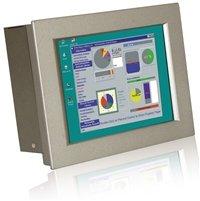 IEI 8.4インチIntel(R)Atom(TM)N2600デュアルコア搭載ファンレス産業用タッチパネルPC PPC-3708A-N26/R/2G