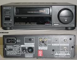 Sony EV-A50 8mm VCR (8mm Vcr Player)