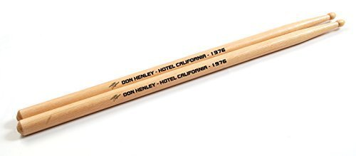 (Eagles Don Henley Hotel California Set of 2 Maple Drumsticks)