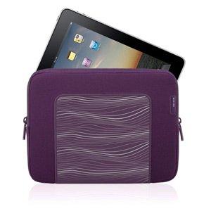 Belkin F8N278tt091 Grip Sleeve for iPad2 and iPad - Perfect Plum