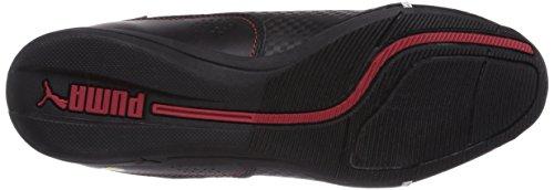 Puma Drift Cat 6 L SF Jr - zapatilla deportiva de cuero infantil Negro