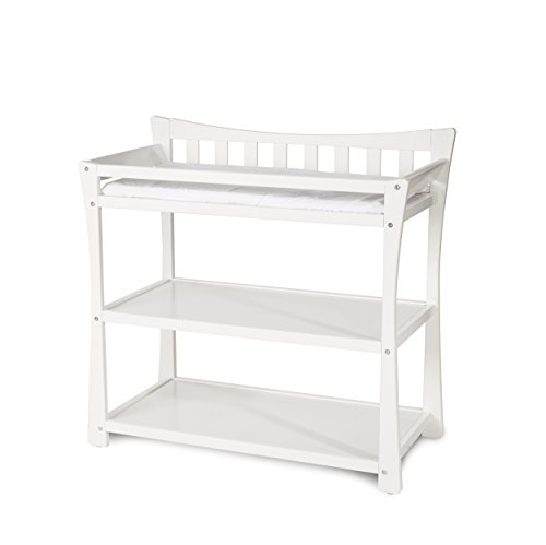 - Child Craft Parisian Changing Table with Pad, Matte White
