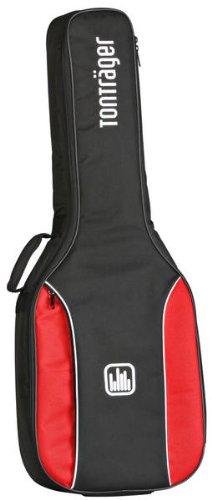 Tonträger Konzertgitarre 1//4 schwarz-rotTasche für 1//4 Konzertgitarre