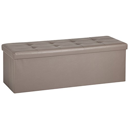 Ollieroo Leather Folding Storage Ottoman product image