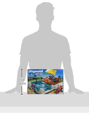 Playmobil Swimming Pool With Terrace Play Set Import It All