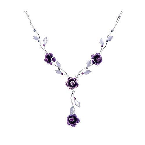 Glamorousky Rose Necklace...