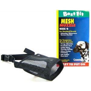 Coastal Dog Muzzle (Coastal Pet Products DCP13005 Nylon Fabric Dog Muzzle, Size 5)