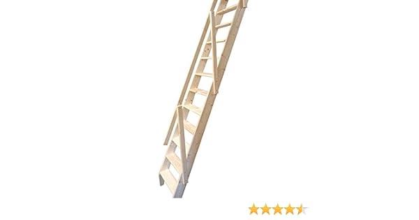 Escalera escamoteable Arundel, de Dolle. Hecha de madera ...