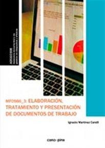 Descargar Libro Mf0986 Elaboración, Tratamiento Y Presentación De Documentos De Trabajo Ignacio Martínez Candil