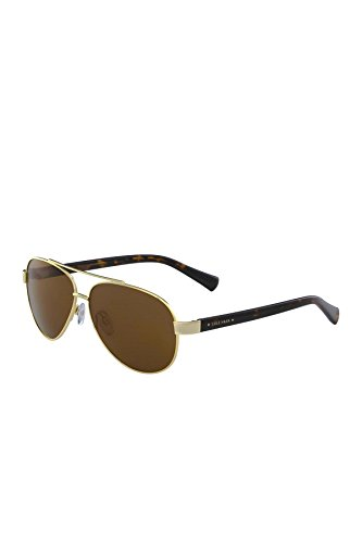 Cole Haan Men's Aviator Gold/Brown Metal Frame Polarized - Aviator Sunglasses Haan Cole