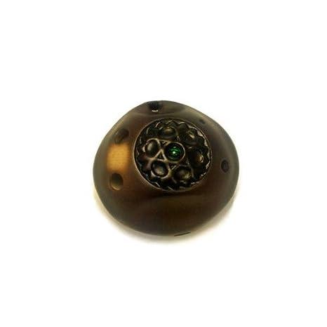 Amazon 6 hole pendant ocarina by songbird inlaid gemstone 6 hole pendant ocarina by songbird inlaid gemstone strawfire finish ceramic soprano aloadofball Image collections