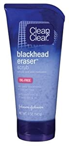 Clean & Clear Oil-Free Blackhead Eraser Scrub, 5 OZ (Pack of 6) made by Clean & Clear