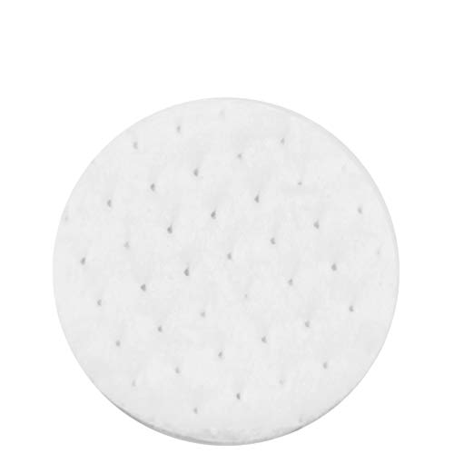 """DecorRack Cotton Rounds, 500 Count Makeup Remover and Facial Cleansing Round Cotton Pads, Waffle Textured Hypoallergenic 100% Natural Cotton Wipes, 2.25"""" Diameter (500 Pack)"""