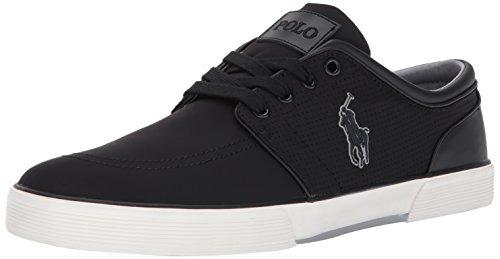 Polo Ralph Lauren Mens Faxon Bassa Nera Sneaker