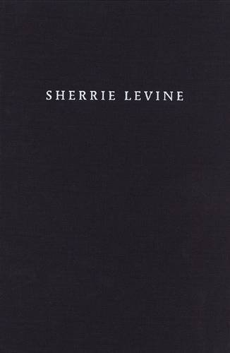 Sherrie Levine pdf