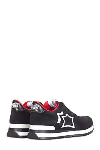 Atlantic Nnr Stars 10b Sneakers Veg Vega Mujer Negro r6rPTqX